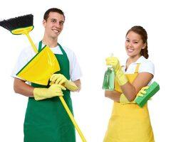 Уборщица в магазин