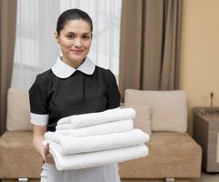 Уборщица гостиничных номеров