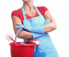Уборщица с питанием