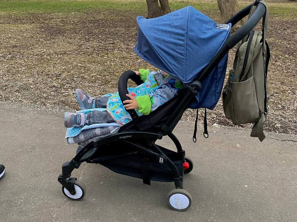 Продаю абсолютно новую коляску BabyTime за 2900р - 1