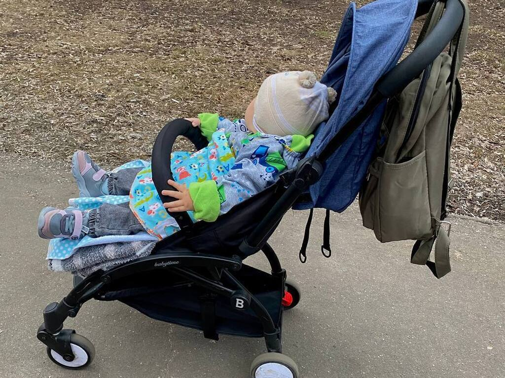 Продаю абсолютно новую коляску BabyTime за 2900р - 4