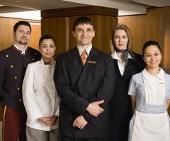 Персонал в Гостиницу